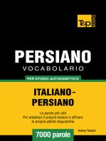 Vocabolario Italiano-Persiano per studio autodidattico