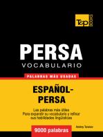 Vocabulario Español-Persa