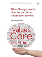 Ethics Management in Libraries and Other Information Services