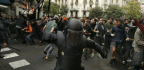 'Illegal' Independence Referendum Turns Violent As Police And Pro-Separatists Clash