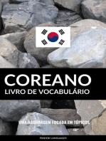 Livro de Vocabulário Coreano