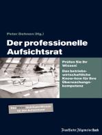 Der professionelle Aufsichtsrat