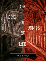 The Do's And Don'ts Of Life