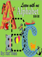 Learn With Me ABCs Alphabet Book