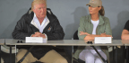Trump Touts Relief Efforts In Puerto Rico