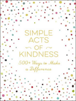 Simple Acts of Kindness