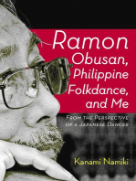 Ramon Obusan, Philippine Folkdance and Me