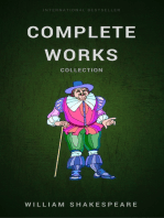 The Complete Works of Shakespeare (Leather Bound) by William Shakespeare (2002-12-03)
