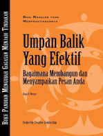 Feedback That Works: How to Build and Deliver Your Message (Bahasa Indonesian)