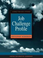 Job Challenge Profile, Participant Workbook and Survey