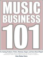 Music Business 101