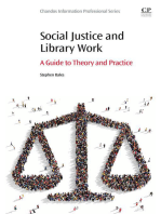 Social Justice and Library Work: A Guide to Theory and Practice