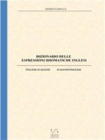 Dizionario delle espressioni idiomatiche inglesi