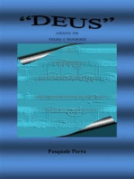 """""""Deus"""" andante per violino e pianoforte"""