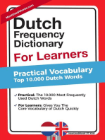Dutch Frequency Dictionary for Learners - Practical Vocabulary - Top 10.000 Dutch Words