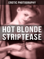 HOT BLONDE STRIPTEASE