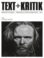 TEXT+KRITIK 216 - Christian Kracht