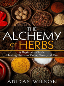 The Alchemy of Herbs - A Beginner's Guide: Healing Herbs to Know, Grow, and Use