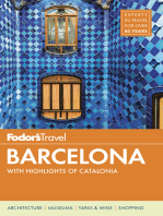 Fodor's Barcelona: with Highlights of Catalonia