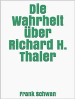 Die Wahrheit über Richard H. Thaler