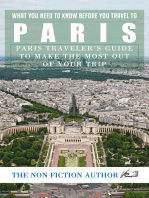 What You Need to Know Before You Travel to Paris