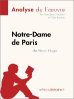 Notre-Dame de Paris de Victor Hugo (Analyse de l'oeuvre)