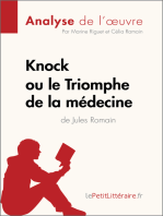 Knock ou le Triomphe de la médecine de Jules Romain (Analyse de l'oeuvre)