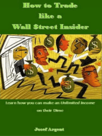 How to Trade like a Wall $treet Insider