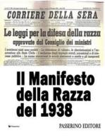 Il Manifesto della Razza del 1938