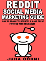 Beginner's Reddit Social Media Marketing Guide