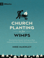 Church Planting Is for Wimps (Redesign)