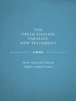 Greek-English Parallel New Testament ebook
