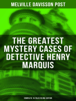 The Greatest Mystery Cases of Detective Henry Marquis