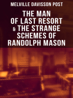 The Man of Last Resort & The Strange Schemes of Randolph Mason