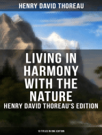 Living in Harmony with the Nature