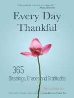 Every Day Thankful: 365 Blessings, Graces and Gratitudes