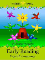 Weebies Family Early Reading Book