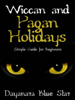 Wiccan and Pagan Holidays