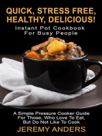 Instant Pot Cookbook For Busy People