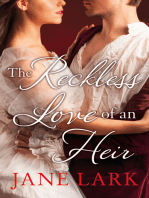 The Reckless Love of an Heir (The Marlow Family Secrets, Book 7)