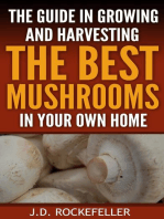 The Guide in Growing and Harvesting the Best Mushrooms in Your Own Home