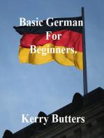 Basic German For Beginners.