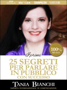 I Primi 25 Segreti per Parlare in Pubblico con Successo