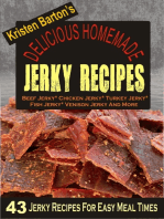 Delicious Homemade Jerky Recipes