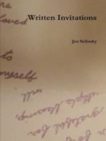 Written Invitations