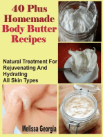 40 Plus Homemade Body Butter Recipes