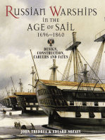 Russian Warships in the Age of Sail 1696 - 1860: Design, Construction, Careers and Fates