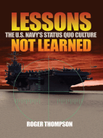 Lessons Not Learned