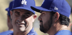 Adrian Gonzalez Rejoins Dodgers After Return From Italy