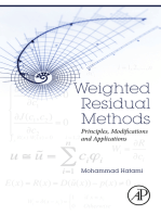 Weighted Residual Methods
